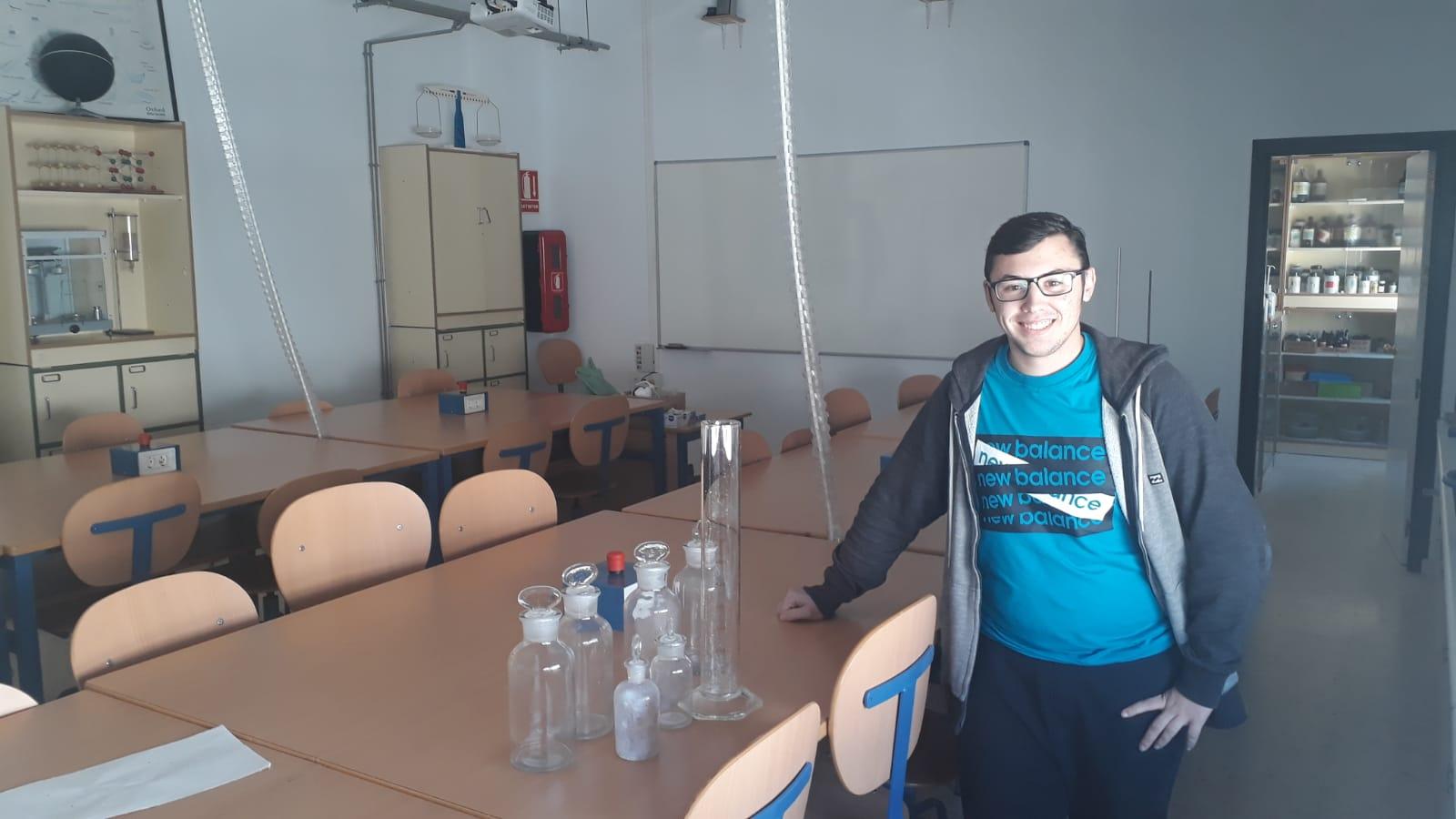 Imagen de la noticia: Fernando Carreño, primer seleccionado también para las Olimpiadas de Química 2019.