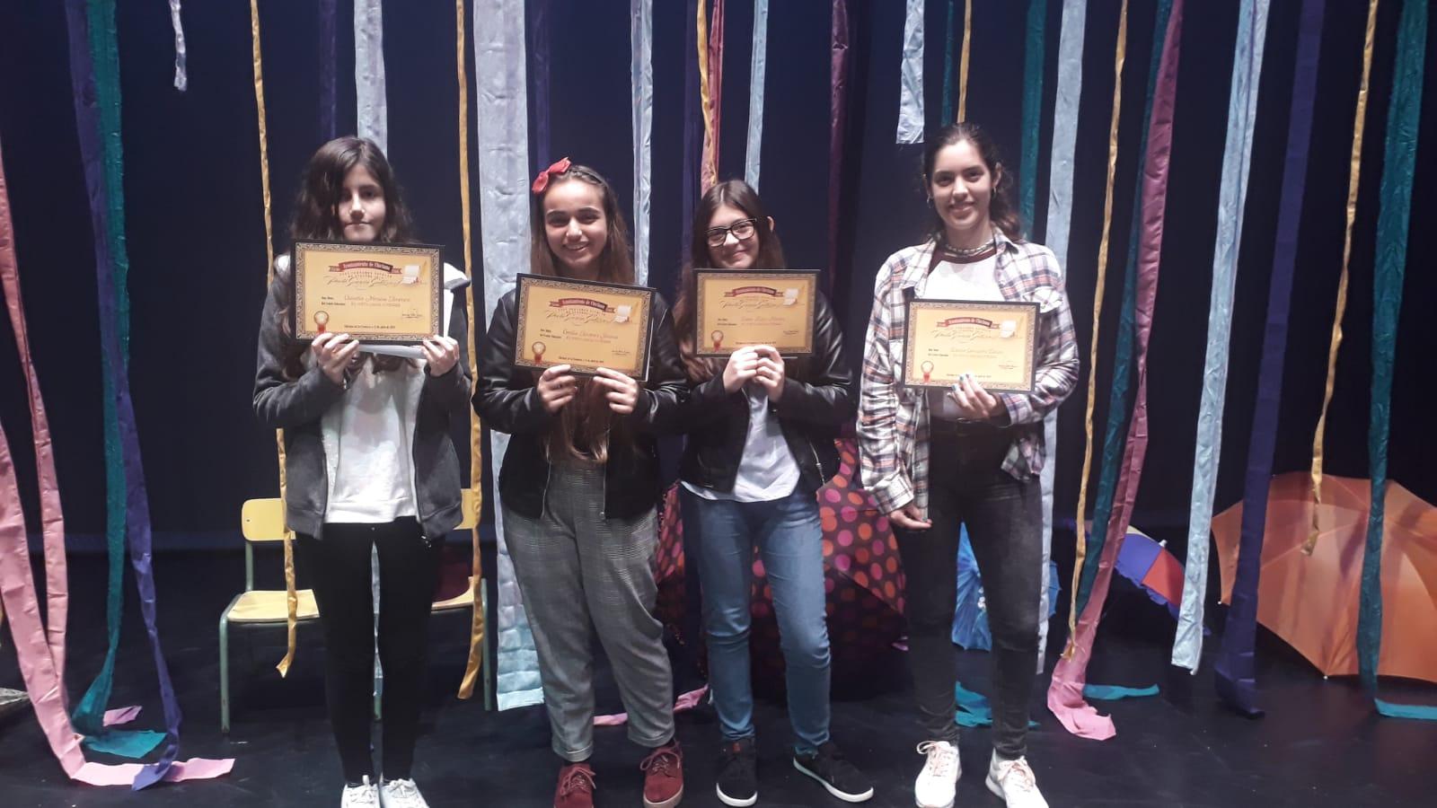 Imagen de la noticia: Alumnado del Poeta premiado en el Certamen de Cuentos.