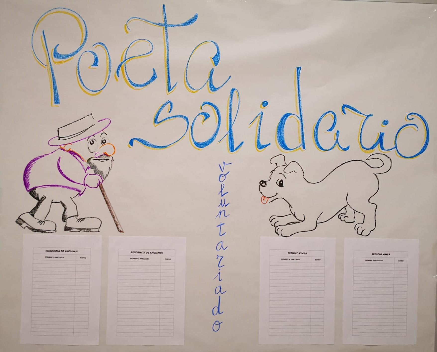Imagen de la noticia: Poeta Solidario [Actualizado]