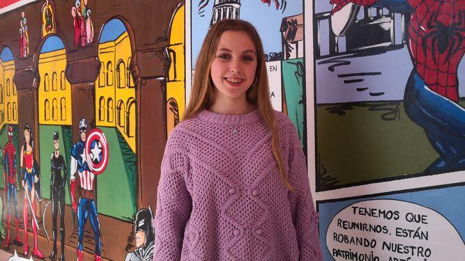 Imagen de la noticia: María Cristina Manzano, de 4º de ESO, becada por la Fundación Amancio Ortega.