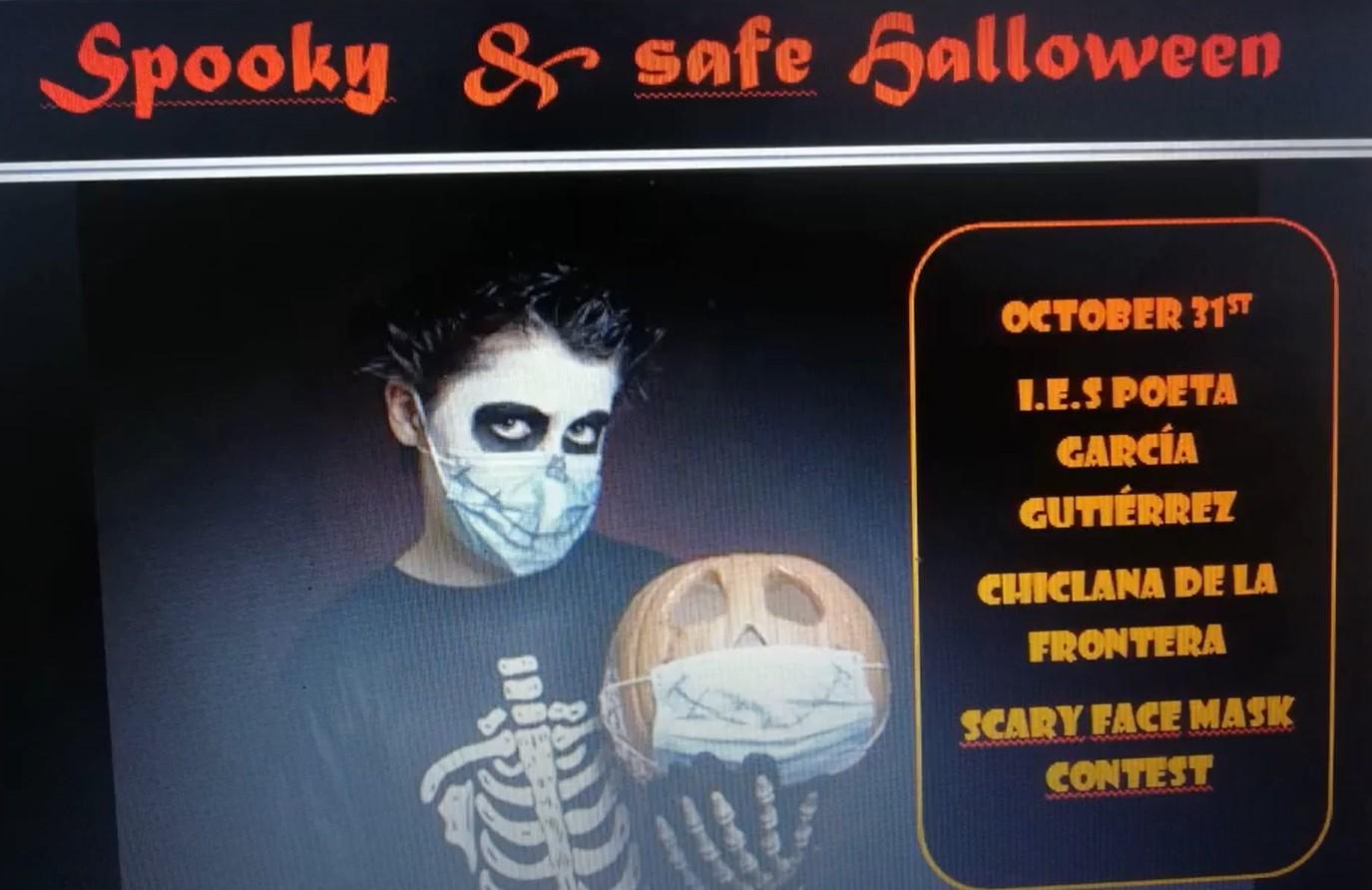 Imagen de la noticia: Ganadores concurso de Halloween (mascarillas y relatos) [Actualizado]